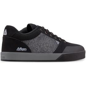 Afton Shoes Keegan Schoenen Vlakke Pedalen Heren, black/heathered